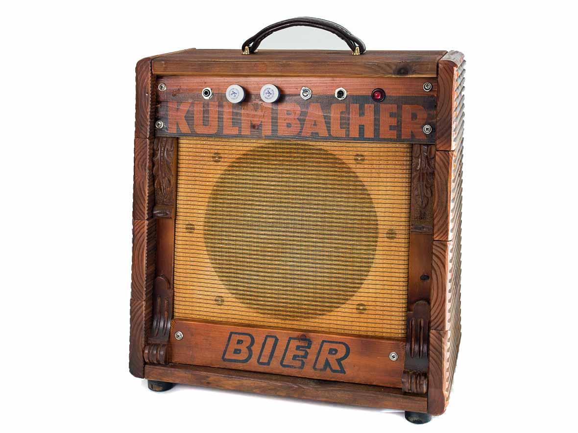 Kulmbacher Bier Gitarrenverstärker Röhrenamp