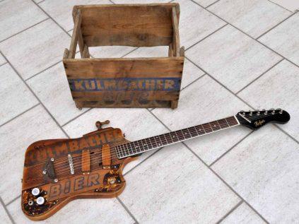 Kulmbacher Bier Gitarre