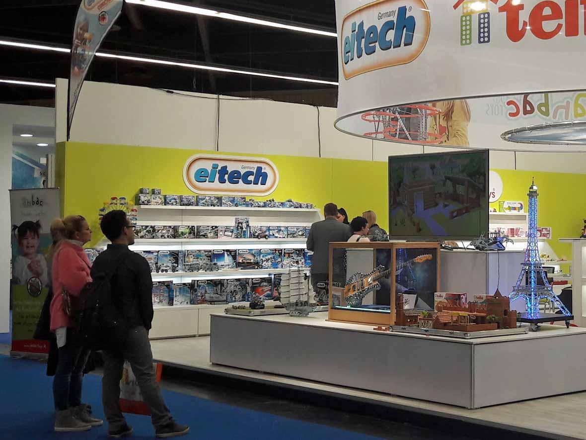 Veranda Guitars auf der Spielwarenmesse in Nürnberg 2017 bei Eitech