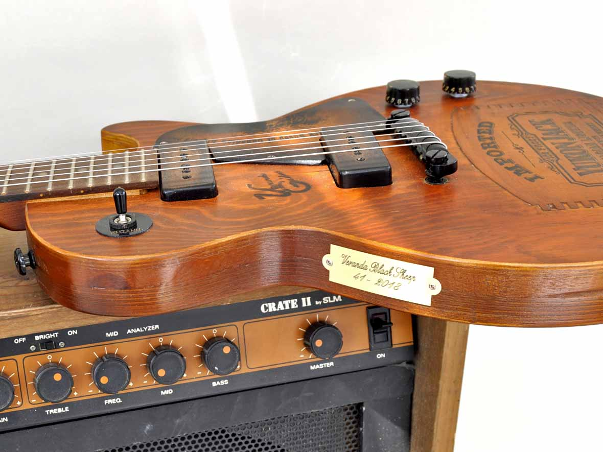 LP Special Guitar with Crate Amp