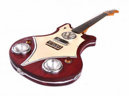 VW Bulli Gitarre T-1
