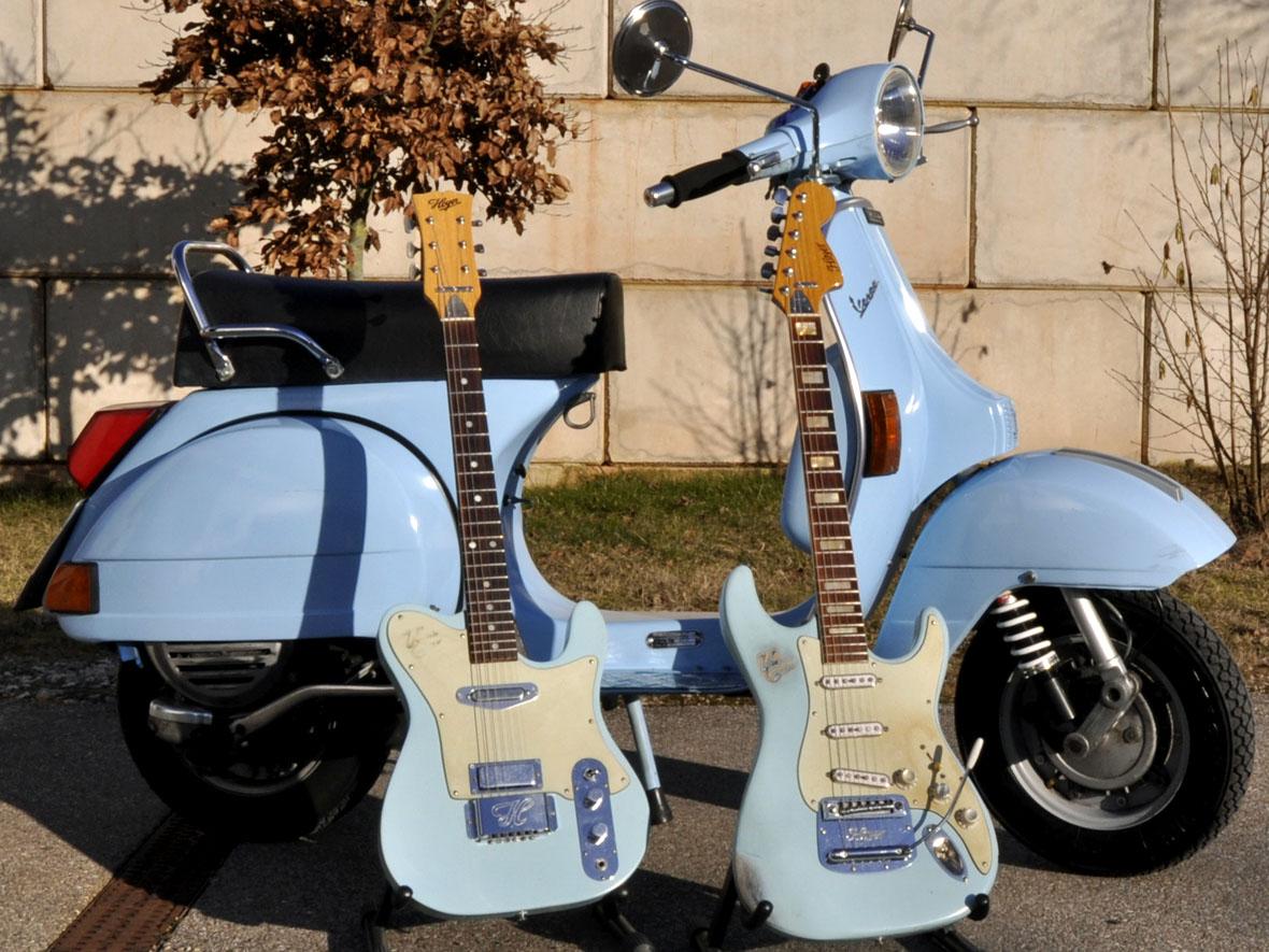 Hoyer Stratocaster und Telecaster