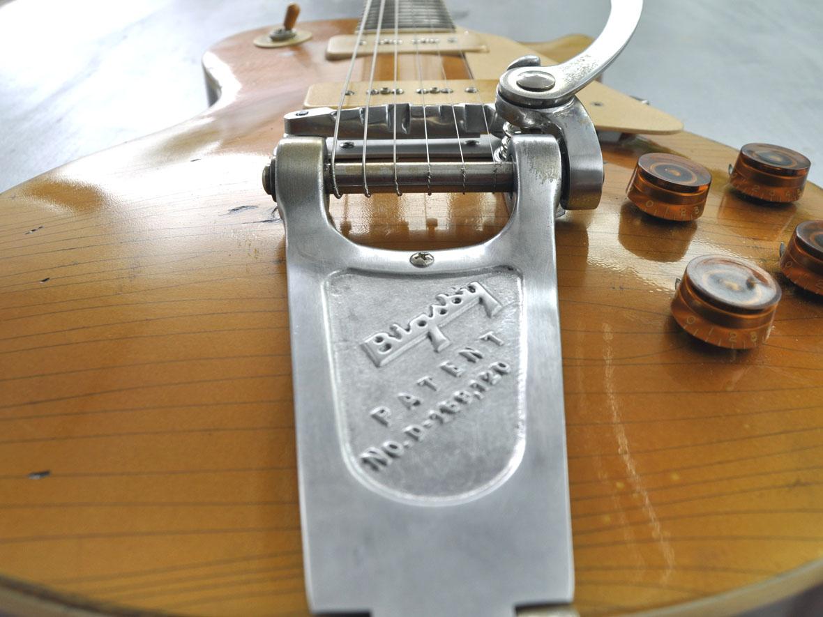 1956 Gibson Les Paul Goldtop Bigsby