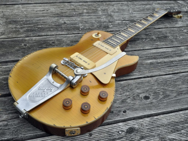 1956 Gibson Les Paul Goldtop Bigsby