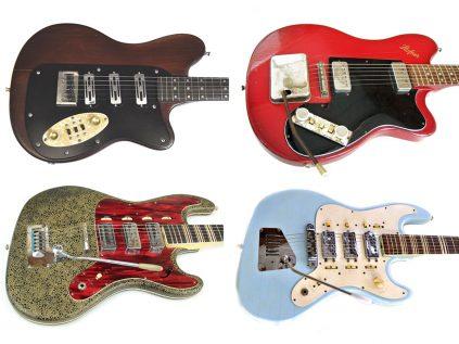 Höfner Vintage Solidgitarren (Colorama, Brokat,...)
