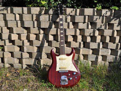 1968 Hopf Studio Gitarre - Interpretation einer Gibson SG