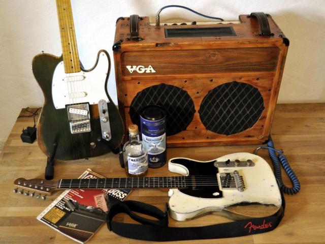 Parfitt and Rossi Guitars