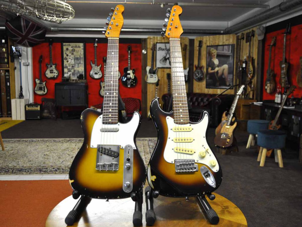 Telecaster und Stratocaster