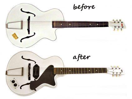 Egmond ES Junior Gitarre