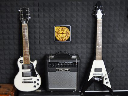 Gibson and Hiwatt