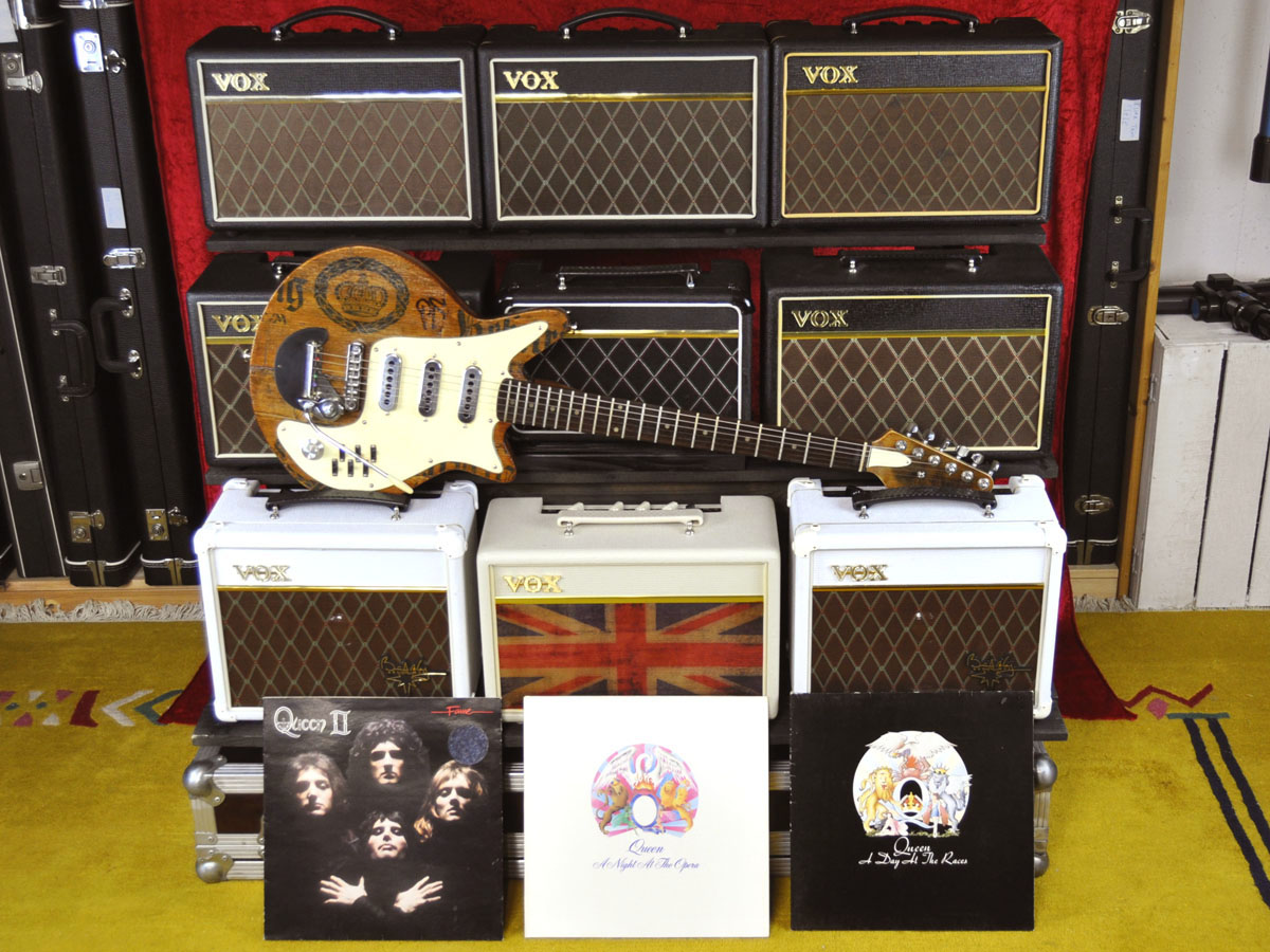 Brian May Red Special and VOX Amps